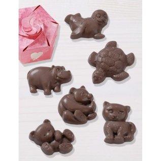 GIESSFORM / MOLDS ACCESOIRES Schokoladengießform: Animaux