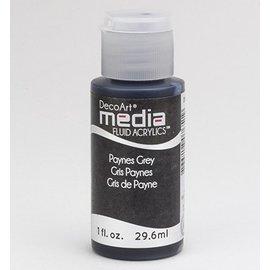 DecoArt medier væske akryl, Payne s Grå