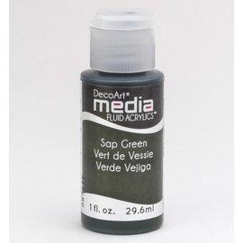 DecoArt acrilici fluido dei media, Linfa Verde