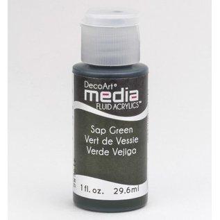 DecoArt medier væske akryl, Sap Green