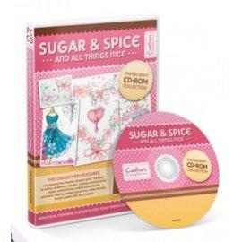Crafter's Companion Sugar & Spice papercrafting Coleção CD-ROM