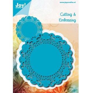 Joy!Crafts / Jeanine´s Art, Hobby Solutions Dies /  Stempling og prægning stencil, Spitzedeckchen runde