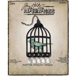 Sizzix Sizzix Bigz af Tim Holtz, Caged Bird