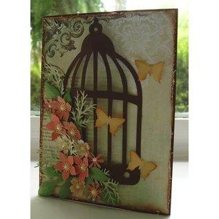 Sizzix Sizzix Bigz Die von Tim Holtz, Caged Bird