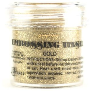 Ranger, Embossing Pulver, guld