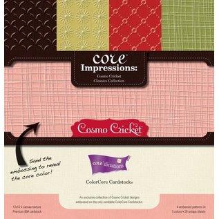 Designer Papier Scrapbooking: 30,5 x 30,5 cm Papier Bloc Designer, 30,5 x 30,5 cm, Core Impressions