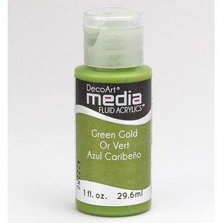 DecoArt medier væske akryl, Green Gold
