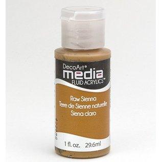 DecoArt acryliques fluides de médias, Raw Sienna