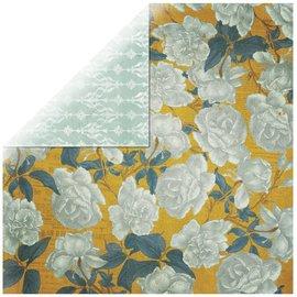 Designer Papier Scrapbooking: 30,5 x 30,5 cm Papier 1 folha de papel Rosen Designer