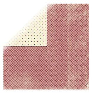 Designer Papier Scrapbooking: 30,5 x 30,5 cm Papier 1 bue designer papir, Classic