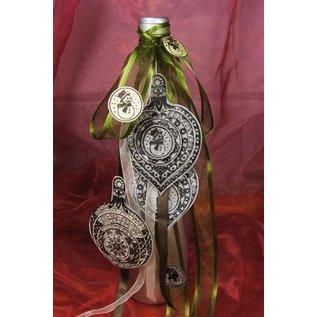 VIVA DEKOR (MY PAPERWORLD) Minus 15% rabat = 4,72 €! Stempel, 3D Julen bold med klokke