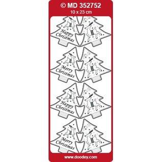 Sticker Sticker, Weihnachtsbaume als Labels