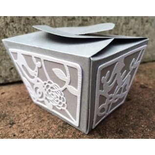 Sizzix Stanz- und Prägeschablone für Schachtelchen