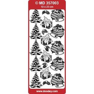 Sticker Detailliert geprägte Sticker, Weihnachtsmotive