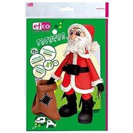 FOFUCHA Fofucha Papai Noel: folhas de corte + + adesivos manuais