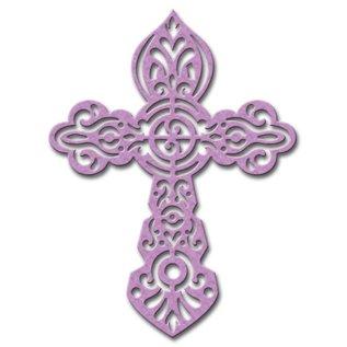 Spellbinders und Rayher Stanz- und Prägeschablone, Spellbinders, Kreuz