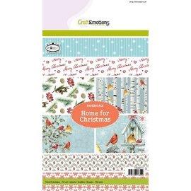 DESIGNER BLÖCKE / DESIGNER PAPER SPECIAL OFFER: pretty designer block, Home for Christmas