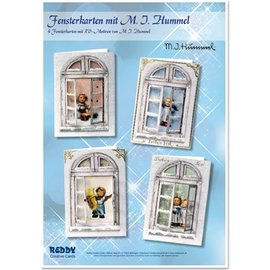 Joy!Crafts / Jeanine´s Art, Hobby Solutions Dies /  Carte finestre Bastelset MIHummel, angelo