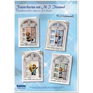 Joy!Crafts / Hobby Solutions Dies Fenêtres Bastelset cartes MIHummel, ange