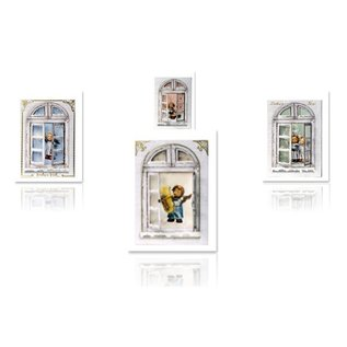 Joy!Crafts / Hobby Solutions Dies Bastelset vinduer cards MIHummel, engel