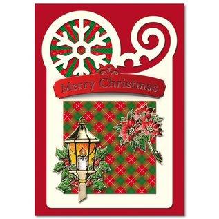 BASTELSETS / CRAFT KITS Bastelset: für 4 Weihnachtskarten