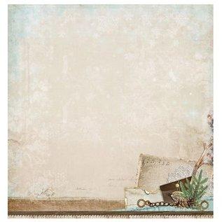 Designer Papier Scrapbooking: 30,5 x 30,5 cm Papier Designerbogen, 30,5 x 30,5cm Winter Memories Nr02