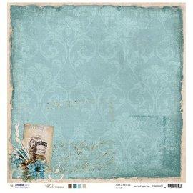 Designer Papier Scrapbooking: 30,5 x 30,5 cm Papier Designer Bow, 30.5 x 30.5cm Winter Memories Nr03