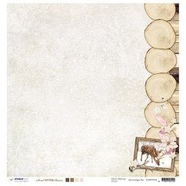 Designer Papier Scrapbooking: 30,5 x 30,5 cm Papier Designer Bow, 30.5 x 30.5cm zoete Wintertijd NR02
