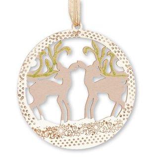 Objekten zum Dekorieren / objects for decorating Weihnachtsdekoration aus holz zum verzieren