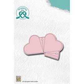 Nellie Snellen Poinçonnage et gaufrage modèle pour la conception de coeur baie wapitis