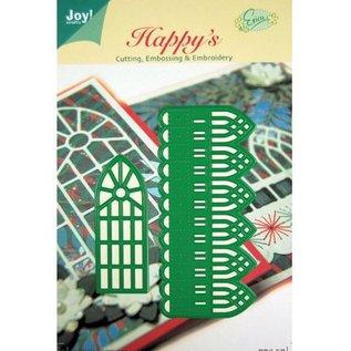 Joy!Crafts / Hobby Solutions Dies Coupe et de gaufrage pochoirs, bordure décorative et fenêtres