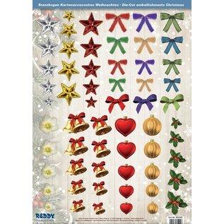 Embellishments / Verzierungen Tolle Idee! Stanzbogen mit Accessoires aus 250g Kartenkarton, Format A4