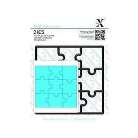 Docrafts / X-Cut Stanzschablone, Puzzleteile