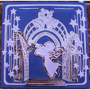 Marianne Design Coupe et gaufrage pochoirs, les cloches de Petra