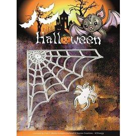 Yvonne Creations Estampage et Pochoir gaufrage, Yvonne Creations, Halloween Spider Web