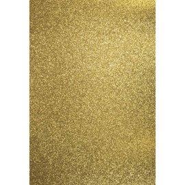 Karten und Scrapbooking Papier, Papier blöcke A4 Bastelkarton: Glitter, gold