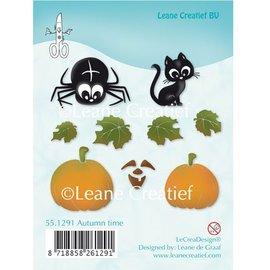 Leane Creatief - Lea'bilities Tampons transparents, des motifs d'automne