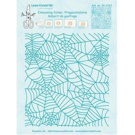 Leane Creatief - Lea'bilities Cartella goffratura: Spinnewebe modello