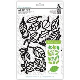 Docrafts / X-Cut Stanz- und Prägeschablonen, Xcut Large: Blätter