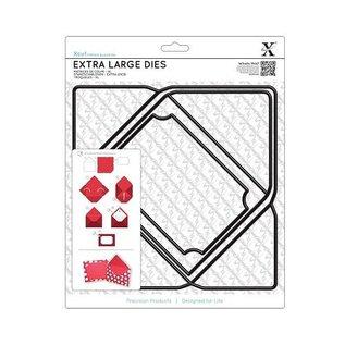 Docrafts / X-Cut A4 Stanzschablonen, Extra Groß (1Stk), Briefumschlag