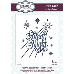 CREATIVE EXPRESSIONS und COUTURE CREATIONS Creative Expressions, The Festive Collection, Silent Night