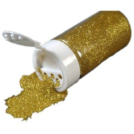 BASTELZUBEHÖR, WERKZEUG UND AUFBEWAHRUNG Glitter i en Streudose 14g, guld
