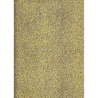 Sticker A4 sticker ark: glitter, guld