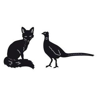 Marianne Design Stanz- und Prägeschablonen, Tiny's Animals, Fuchs und Fasan