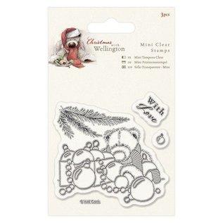 Papermania Transparent Stempel, Wellington Bär Weihnachten