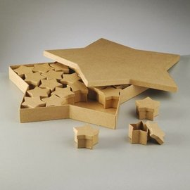 Objekten zum Dekorieren / objects for decorating Voorwerpen te versieren, set dozen, Star