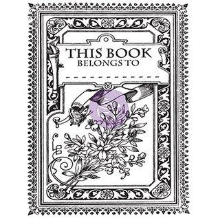 Prima Marketing und Petaloo Transparent Stempel, Princess, Kouvert Mini Buch