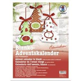 Kit de artesanato completo para um calendário do advento
