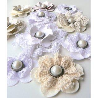 Marianne Design Skæring og prægning stencils, blomster og blade XL