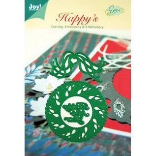 Joy!Crafts / Hobby Solutions Dies Stansning og prægning skabeloner, jul krans